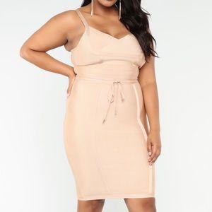 Fashion Nova   Plus Size Valencia Bandage Dress